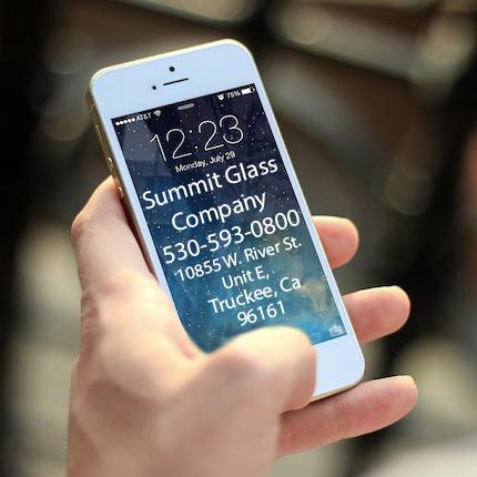 windshield repair Tahoe phone
